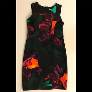 MILLY Bianca Floral Cocktail dress